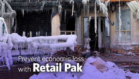 Prevent economic loss with Retail Pak.