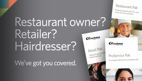 Restaurant owner? Retailer? Hairdresser? We've got you covered.