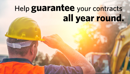 Help guarantee your contracts all year round.